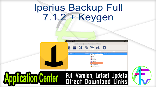 Iperius Backup Full 7.1.2 + Keygen