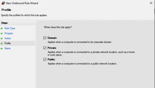 كيفية منع التطبيقات والبرامج من الاتصال بالإنترنت في ويندوز 10