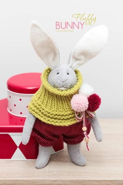 stuffed animal bunny easy to make your own