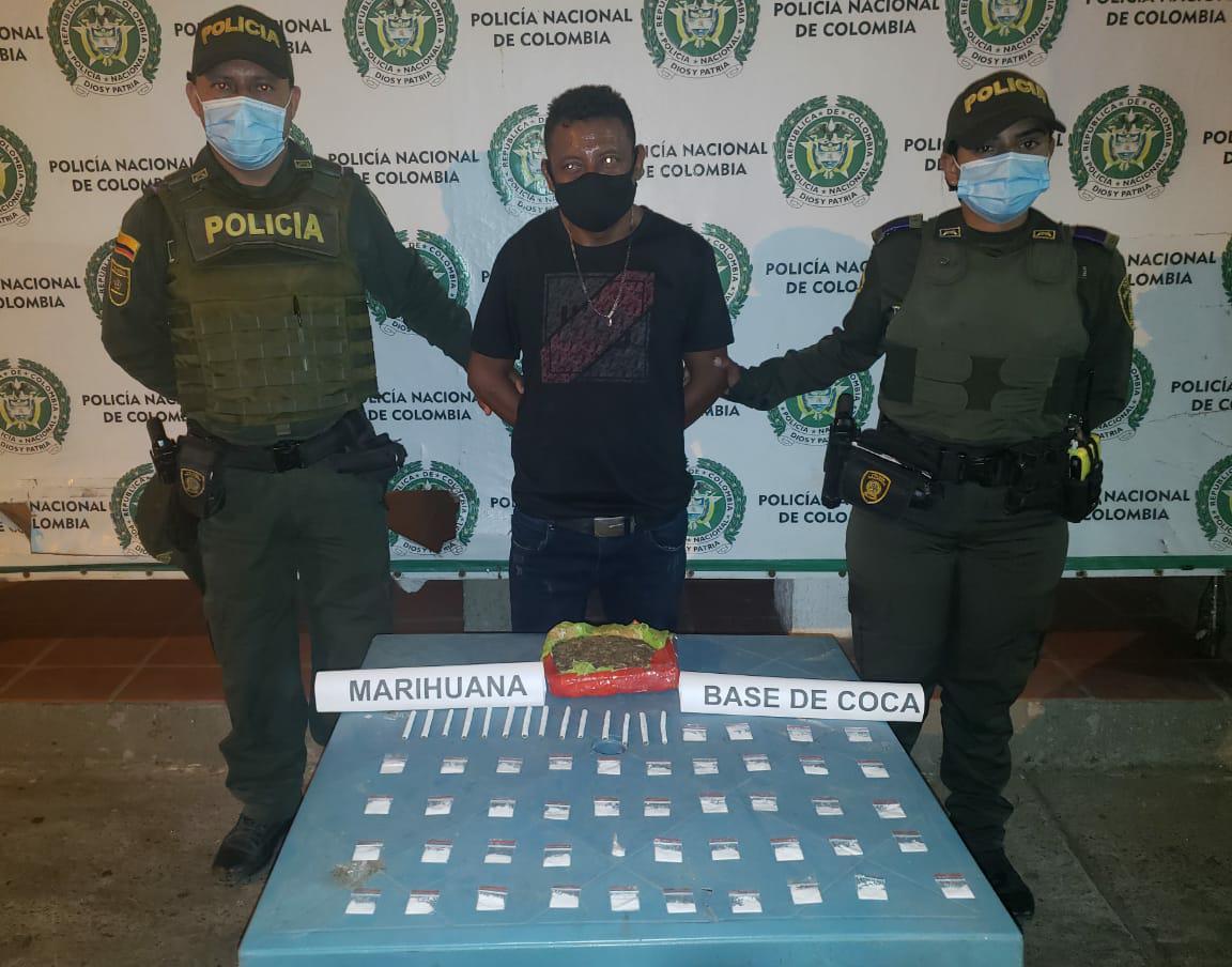 hoyennoticia.com, Pillado jibaro de Maicao con media libra de marihuana y 44 gramos de coca
