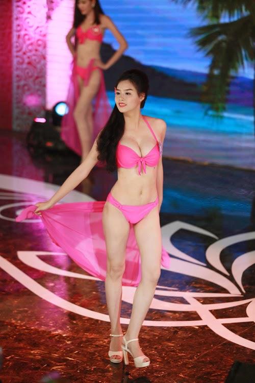 Hoa hậu thi bikini đẹp