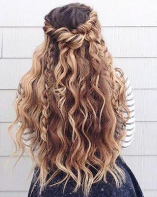 peinado casual para fiesta de gala adolescentes tumblr