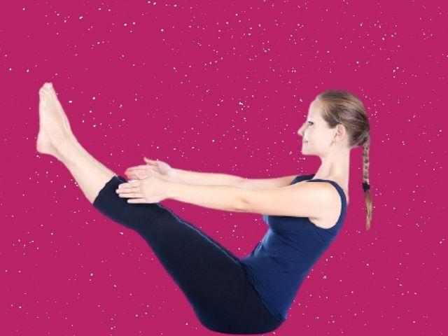 Naukasana Yoga for PCOD