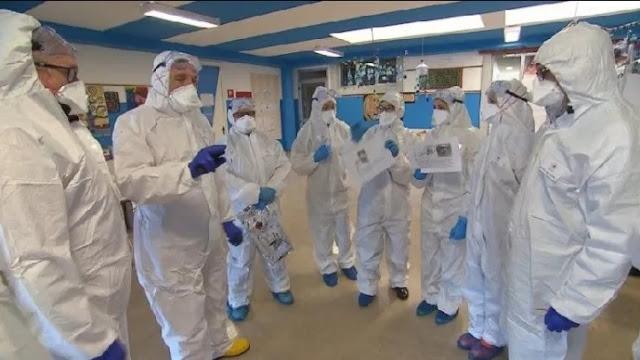 Medici albanesi andati in Italia per aiutare contro il coronavirus, archivio