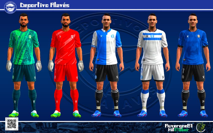 Kits Deportivo Alaves 2021-2022 For PES 2013