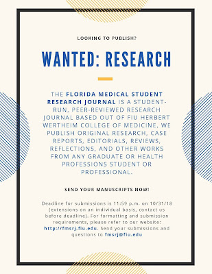 Florida Medical Student Research Journal (FMSRJ)