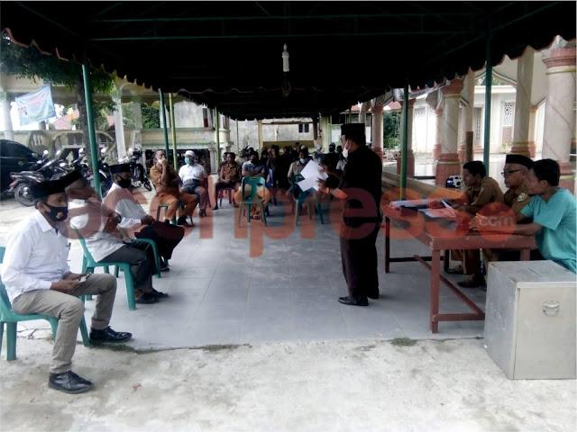 Maimun Terpilih Sebagai Imum Mukim Tiba Periode 2020-2025