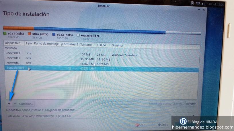 Configuración de las particiones en Xubuntu - El Blog de HiiARA