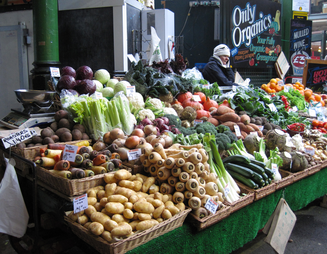 Borough Market Veg
