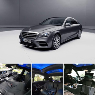 Book Now / Mercedes S-Class 560