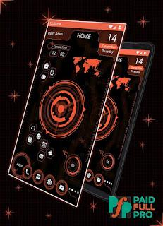 Futuristic UI Launcher 2018 Hitech Theme Ad Free APK