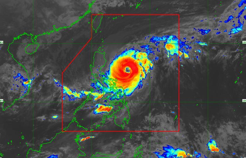 'Bagyong Bising' PAGASA satellite image April 20