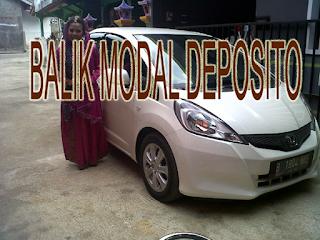 Balik Modal Deposito, Uang Modal