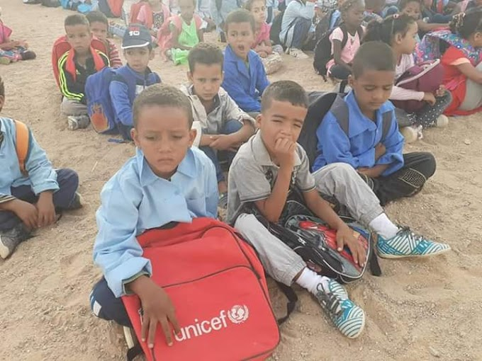 La educación está en peligro, los profesores saharauis en huelga general tras 6 meses sin cobrar