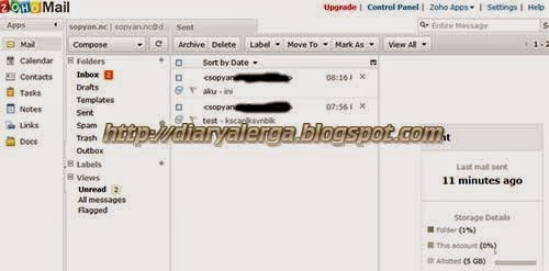 membuat email domain sendiri pada custom domain blogger