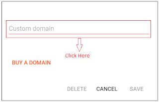 Blog में Custom Domain Name कैसे जोड़े