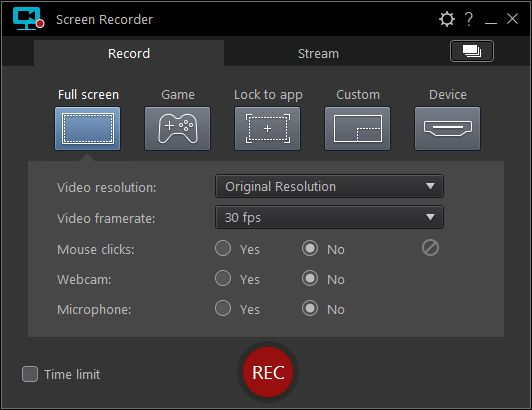 CyberLink - Screen Recorder Deluxe v3.1.1.4726 Full version