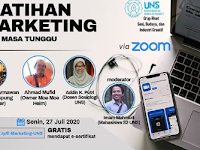 Webinar E Marketing Tingkat Nasional 2020 di UNS