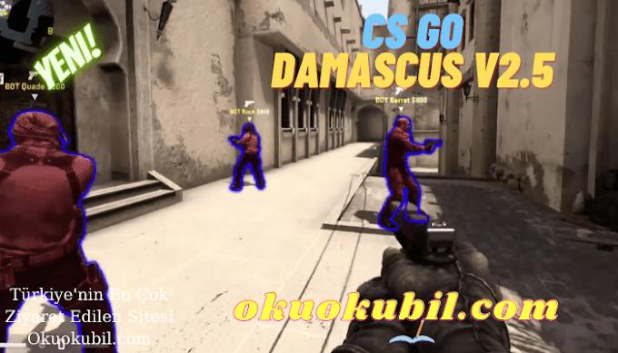 CS GO: Damascus v2.5 Vac Bypass, Glow, Aimboti, Son Sürüm İndir