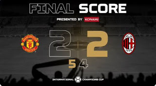 Manchester United vs AC Milan 2-2 (5-4) Full Highlights