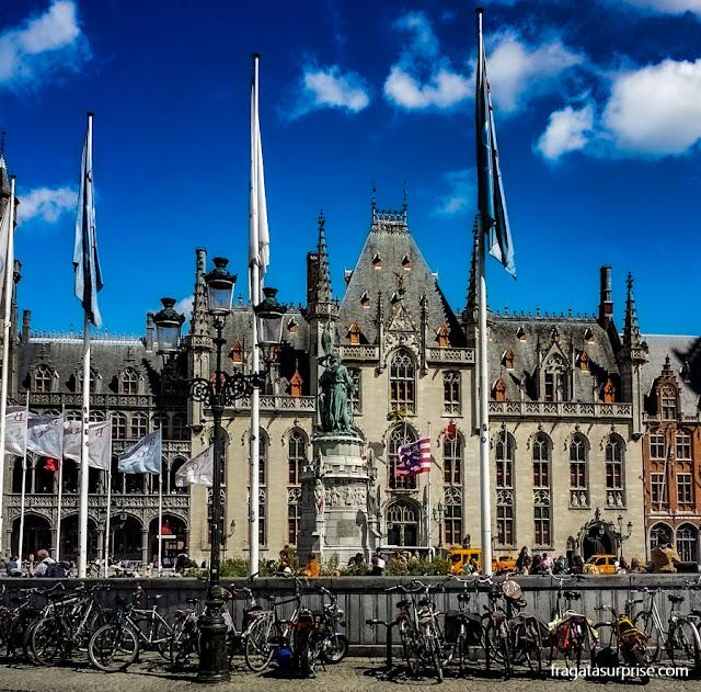 Praça do Mercado de Bruges, Bélgica