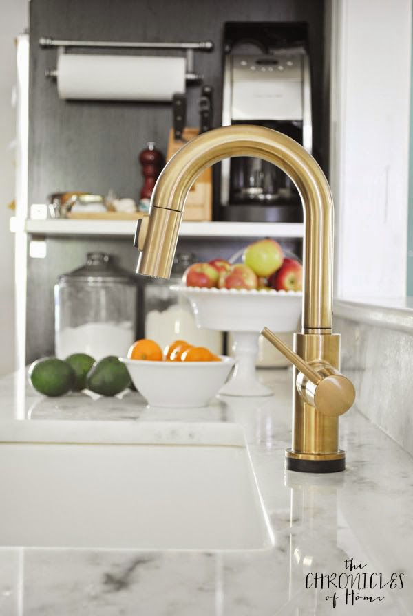 Delta Kitchen Faucets Gold