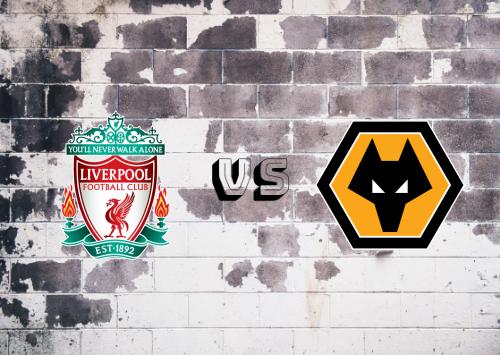Liverpool vs Wolverhampton Wanderers  Resumen y Partido Completo