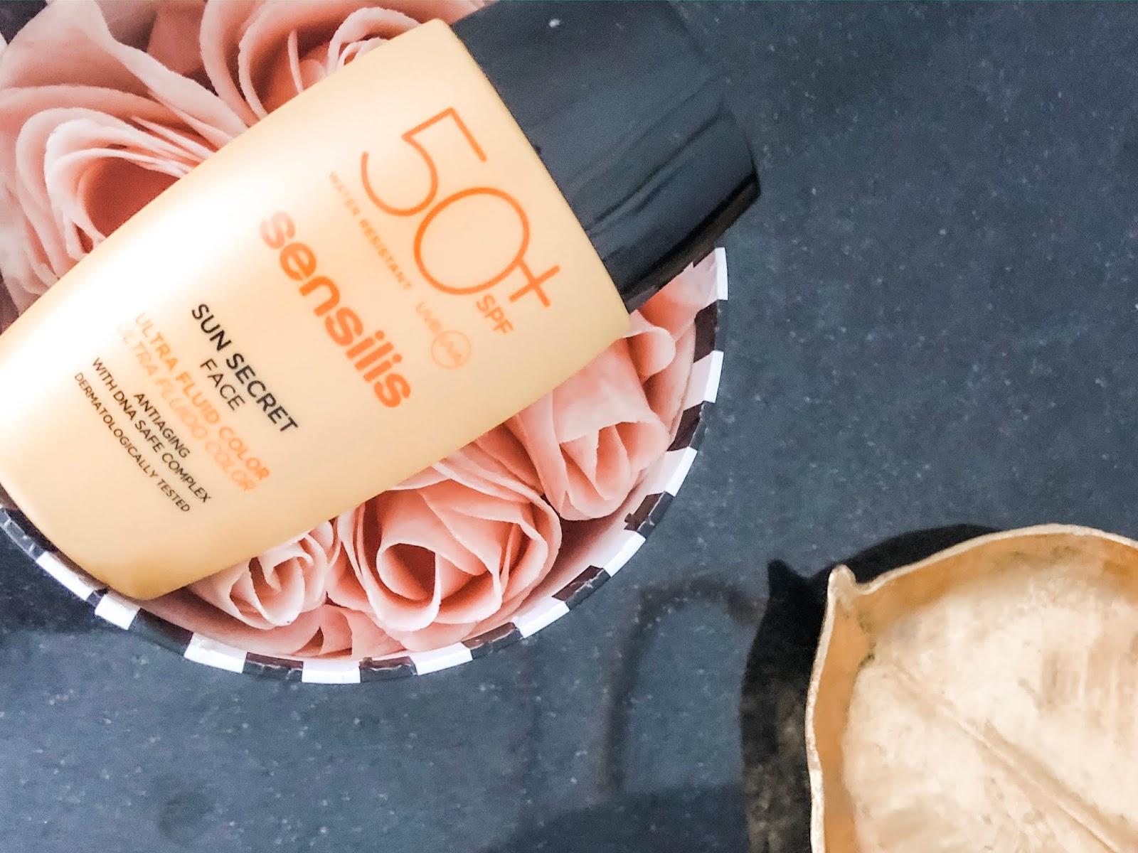 sunscreen 50+ sensilis