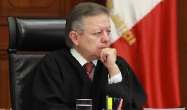 Reitera Zaldívar a AMLO independencia y autonomía de jueces