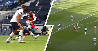Video: Alexandre Lacazette beautiful stunner in 2-1 loss to Tottenham