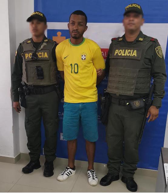 Departamento de Policía Guajira captura hombre por hurto en Riohacha