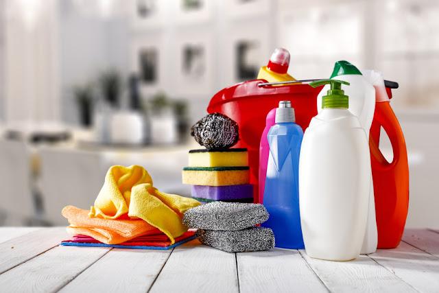 Naturalne środki czystości.