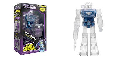 New York Comic Con 2020 Exclusive Transformers Super Cyborg Soundwave X-Ray Edition Action Figure by Super7