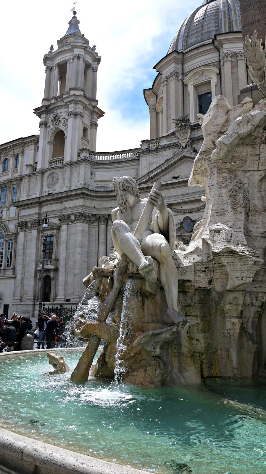 Fountain of Four Rivers Piazza Navona