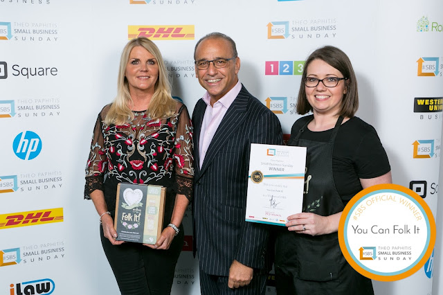 You Can Folk It meets Theo Paphitis Birmingham ICC, small business