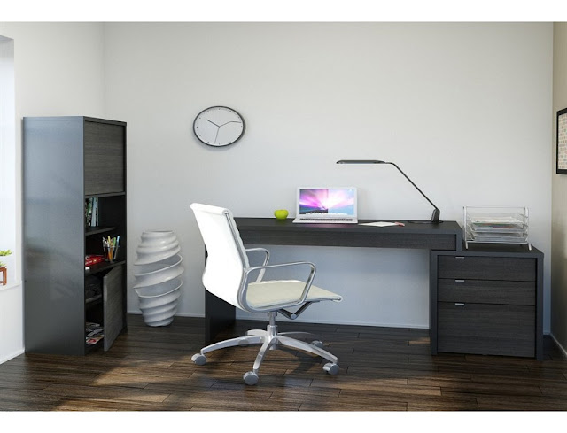 best buy grey modern home office furniture and storage for sale