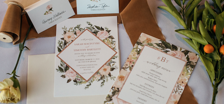 Cocktails, Florals, and Paper Pretties. Oh My!