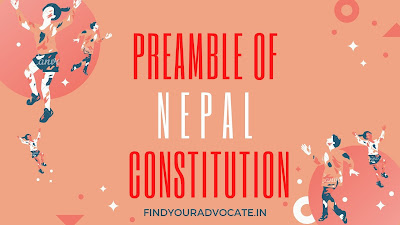 Preamble of Nepal Constitution (Full Pdf ) - FindYourAdvocate