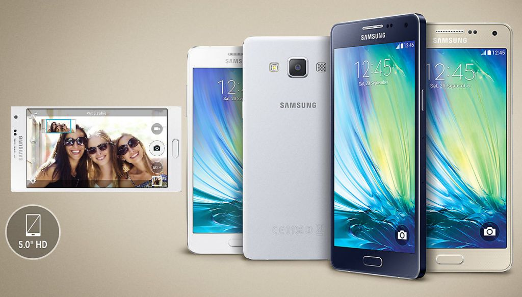 Samsung Galaxy A5 with Specifications
