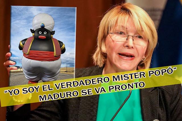 Luisa Ortega Díaz es la que está detrás del Mister Popó Celestial