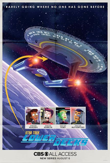 Star Trek Lower Decks teaser poster
