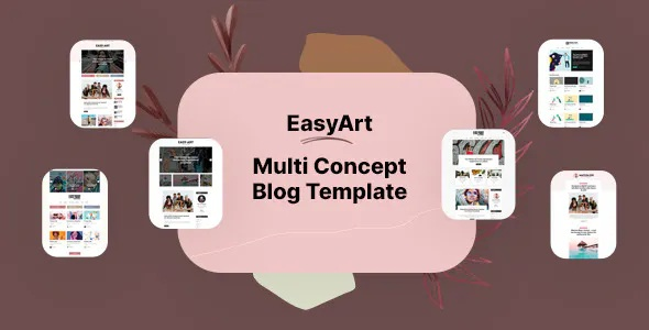 Best Multiconcept Blog HTML Template