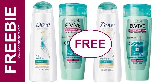FREE Dove Shampoo CVS Coupon Deal 1-26-2-1