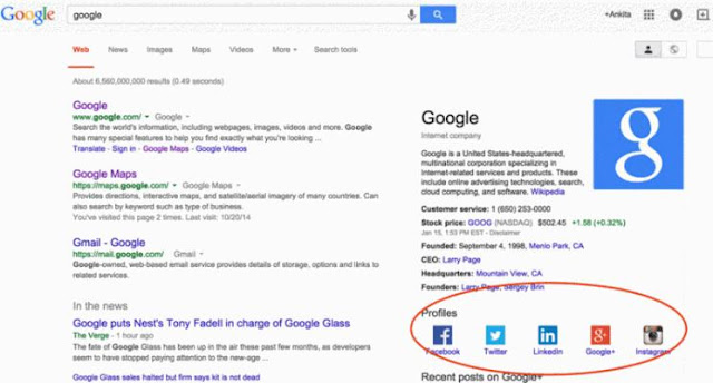 Tips for adding social media links to your Google Search business listing profile