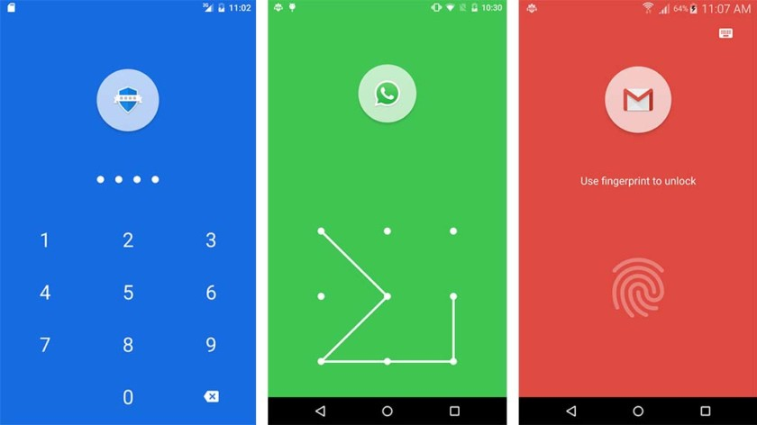 App locks  - App Lock Fingerprint Password screenshot 840x472 - *New* Top 10 Best App Locks and Privacy Lock for Android Devices