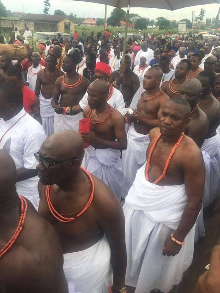 Oba Of Benin Coronation - Oba Ewuare II