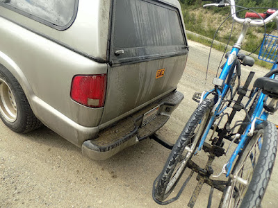Truck, Camper, and Bikes got Filthy an Covered in Rocks