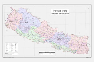 New Nepal's Map