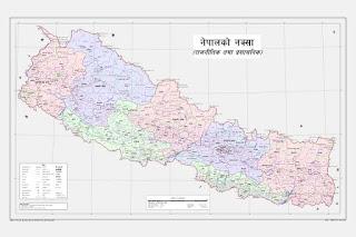 New Nepal's Map