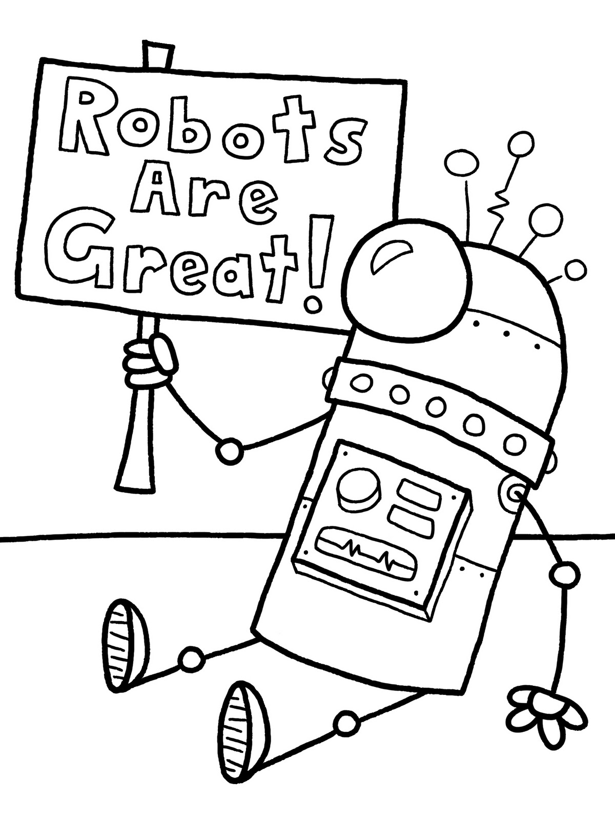 R Is For Robot Worksheet